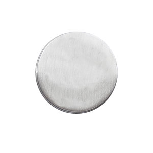 PIN'S ROND A GRAVER 15MM ARGENT
