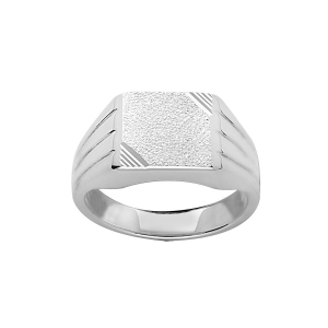 CHEVALIERE 13*10 DIAMANTEE