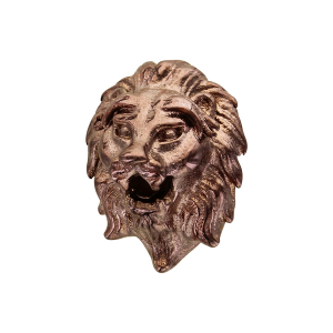 CHARMS ACIER ET PVD MARRON TETE DE LION