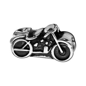 CHARMS ACIER MOTO PATINEE
