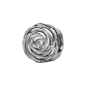 CHARMS COULISSANT ARGENT RHODIE ROSE