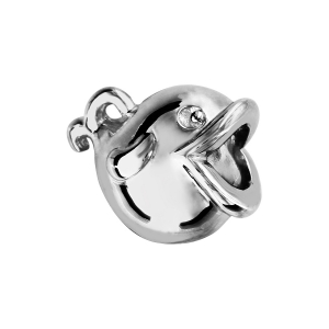 CHARMS COULISSANT ARGENT RHODIE POISSON 2