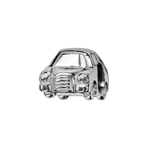 CHARMS COULISSANT ARGENT RHODIE VOITURE