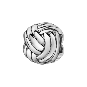 CHARMS COULISSANT ARGENT RHODIE BOULE PELOTE
