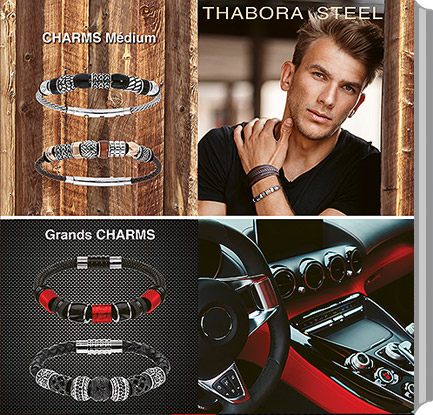 Catalogue Charms Acier Thabora